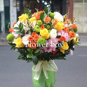 Bình hoa chúc mừng - FBVA 011