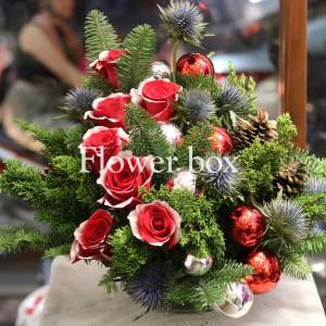 Bình Hoa Giáng Sinh - FBEV 004