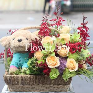 Hộp Hoa và Quà - FBGB 003