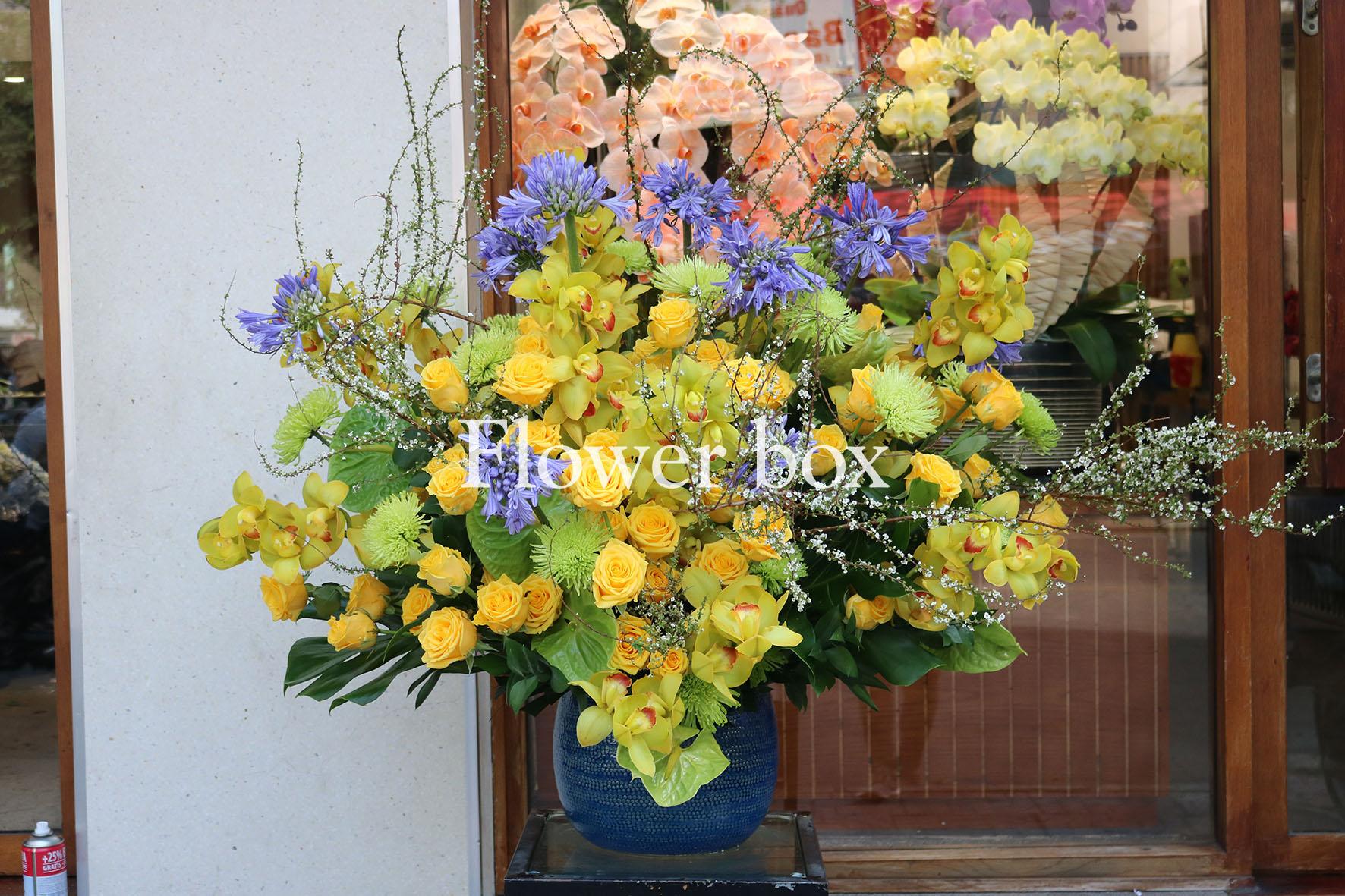 Bình hoa chúc mừng - FBVA 035