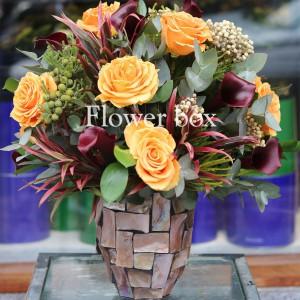 Bình hoa khảm trai - FBVA 023
