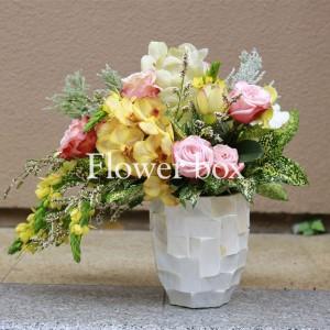Bình hoa khảm trai - FBVA 070