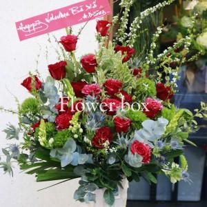 Bình hoa khảm trai - FBVA 076