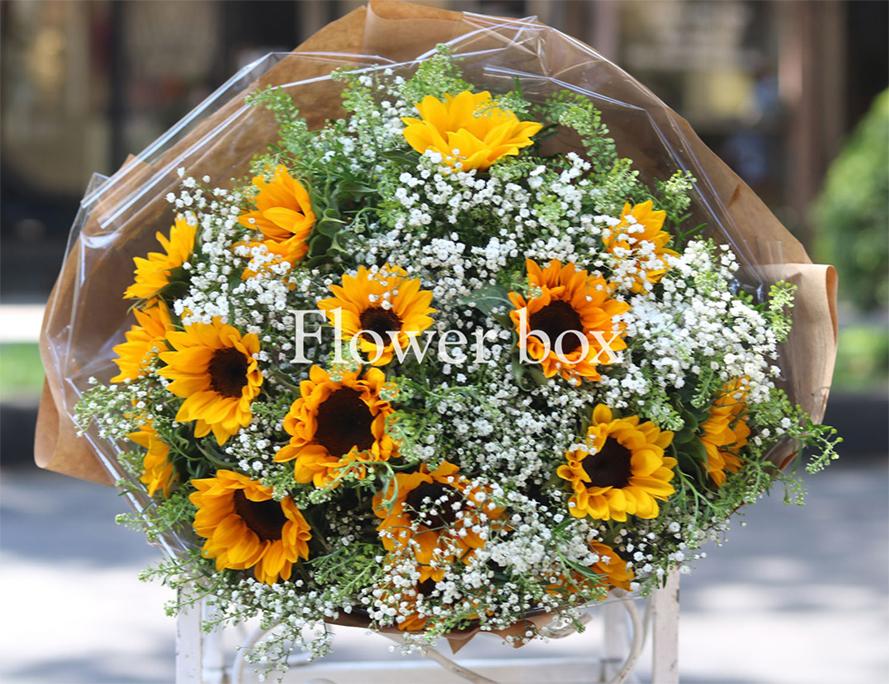 Bó hoa chúc mừng - FBBO 022