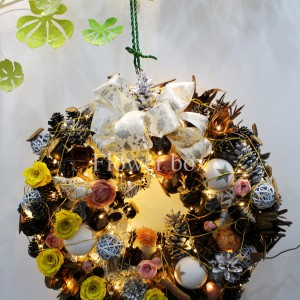 Vòng Nguyệt Quế Giáng Sinh - FBEV 014
