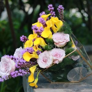 Hộp kính hoa - FBTB 043