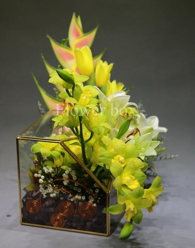 Hộp kính hoa - FBTB 051