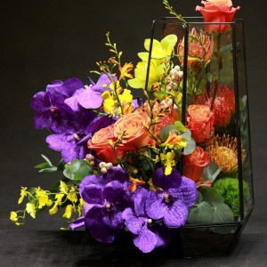 Hộp kính hoa - FBTB 055