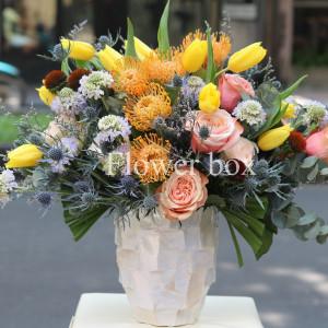 Bình hoa khảm trai - FBVA 059