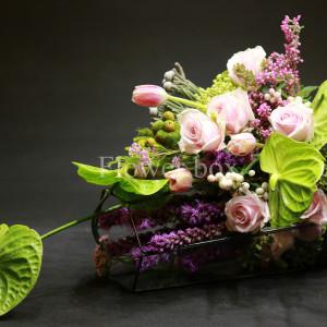 Hộp kính hoa - FBTB 027