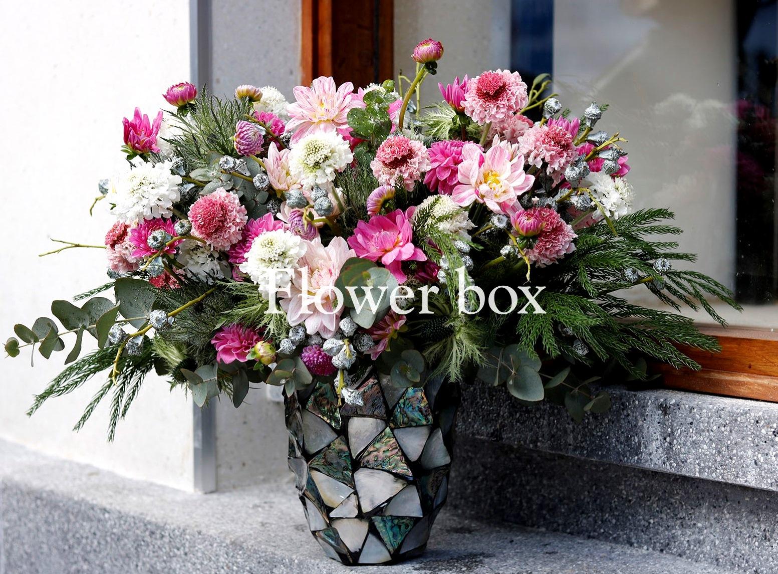 Bình hoa khảm trai - FBVA 062