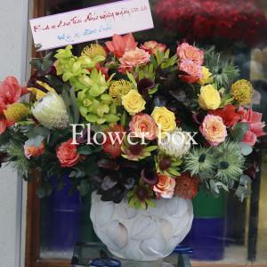 Bình hoa khảm trai - FBVA 054