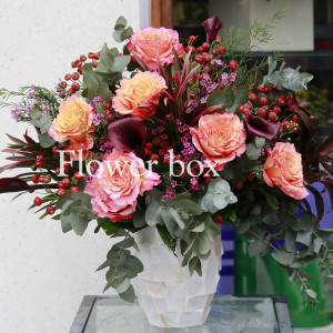 Bình hoa khảm trai - FBVA 051