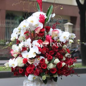 Bình hoa khảm trai - FBVA 041