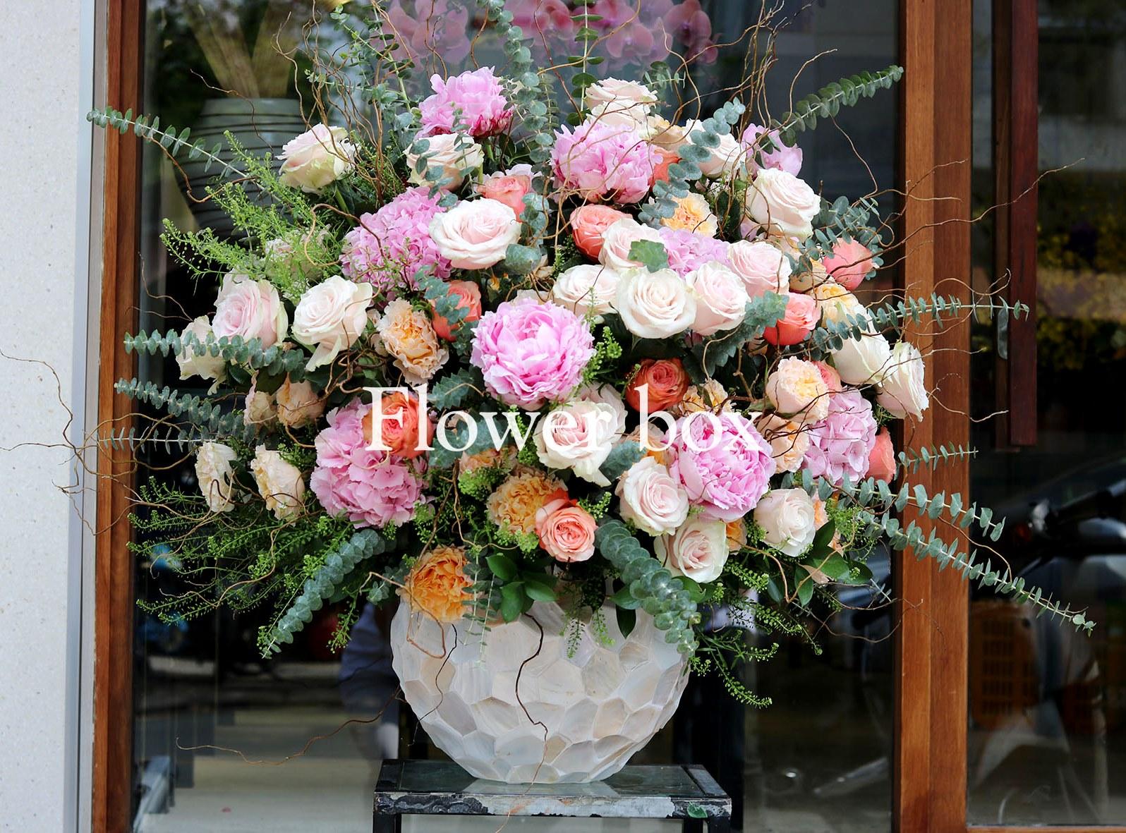 Bình hoa khảm trai - FBVA 065