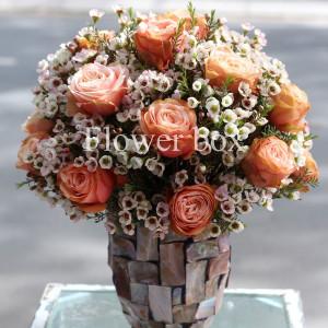 Bình hoa khảm trai - FBVA 038